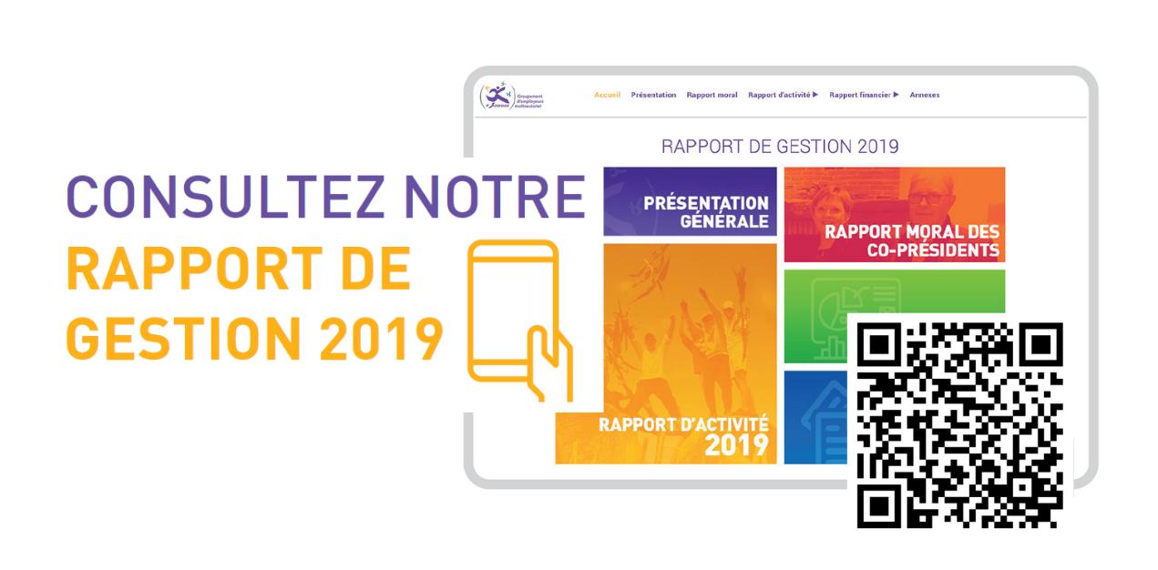 RAPPORT DE GESTION 2019
